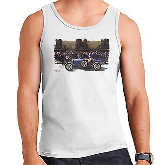 Bugatti typ 3 závodní automobil bílí muži ' s vest