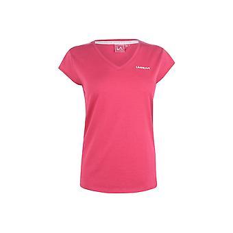 LA Gear V Neck T Shirt Ladies