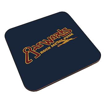 Gasworks Rock Metal Punk Waynes World Coaster