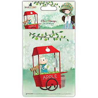 Craft Consortium Clear Stamps An Apple A Day - Cart