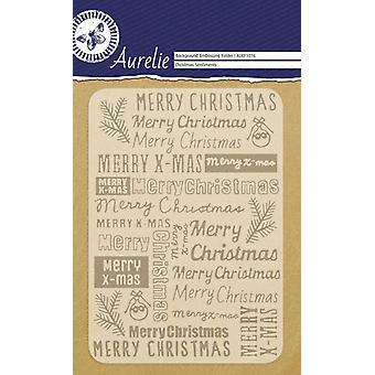Aurelie Jul Sentiments Bakgrund Prägling Mapp