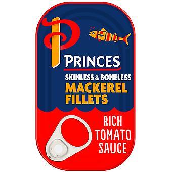 Princes Mackerel Fillets in Rich Tomato Sauce