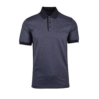 BOSS Casualwear Boss Piket Polo Shirt Dark Blue