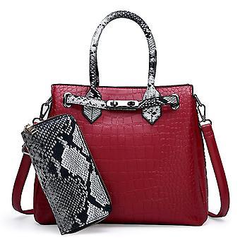 Kvinnor & apos;s bärbara handväska med plånbok