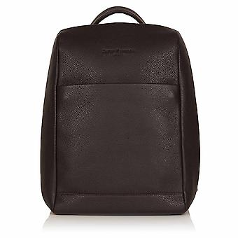 Cocoa Brown Richmond Leather Laptop Backpack