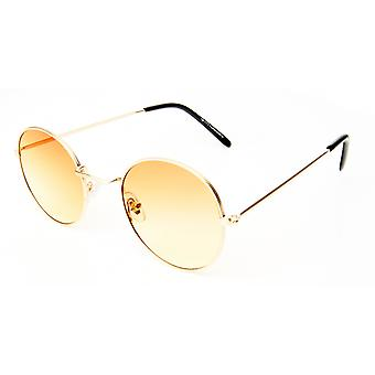 Sunglasses Unisex Gold/White Gold/Yellow (20-115)