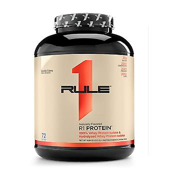 Rule1 R1 Protein - naturally flavored Vanilla Crème 5 lbs