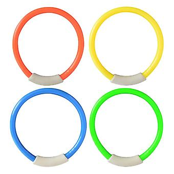4 Pcs/pack Child Kid Diving Ring Water, Swimming Pool Creative, Natation