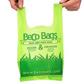 Cocô de beco sacos com alças (120 sacos)