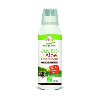 Aloe arborescens juice with organic agave syrup 500 ml