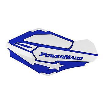 Powermadd 34421 Sentinel Handguards, Blue/White