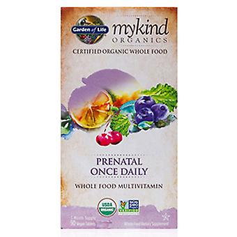 Garden of Life Prenatal Once Daily, 90 Tabs