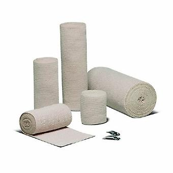 Hartmann Elastic Bandage REB LF 3 Inch X 5 Yard Standaard Compressie Clip Vrijstaande Sluiting Tan NonSterile, Tan geval van 60
