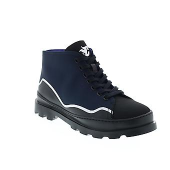 Camper TWS  Mens Black Canvas Nylon Lace Up Ankle Boots