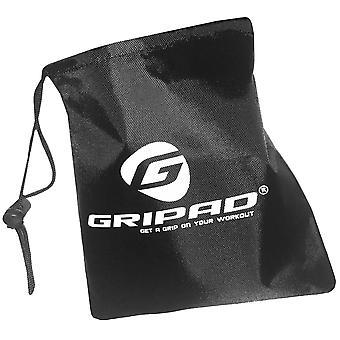 """GripAd 7 """"x 6,5"""" Nylon Sport Zubehör Aufbewahrungstasche - schwarz"""