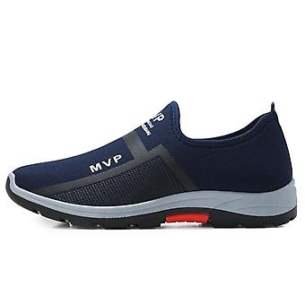Summer Men Hiking Shoes- Outdoor Breathable Slip-on Trekking Shoe