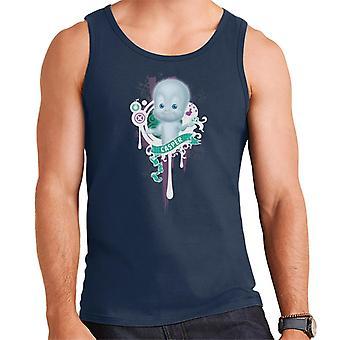 Casper The Friendly Ghost School Emblem Men's Vest
