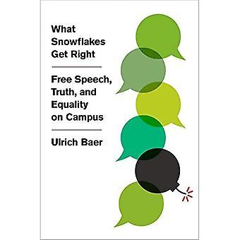 Mitä lumihiutaleet saavat oikein: sananvapaus, totuus ja tasa-arvo kampuksella