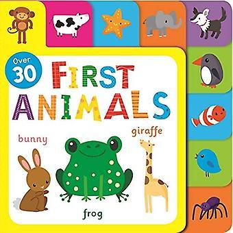 First Animals [Board book]