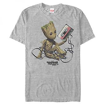 Guardians of the Galaxy Groot Mix Tape T-paita