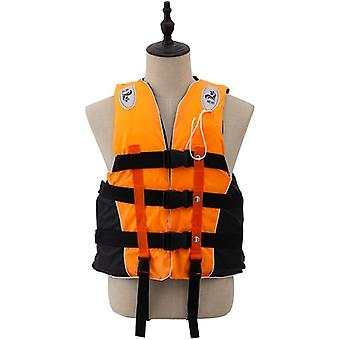 Gilet de sauvetage adulte avec whistle swimming boating ski life water sports man kids