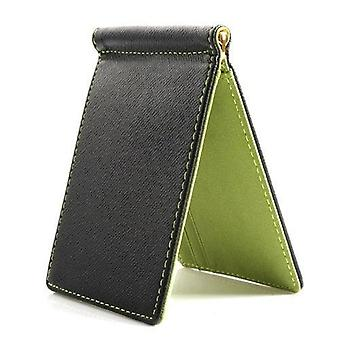 Faux Leather Slim Mens Credit Card Wallet