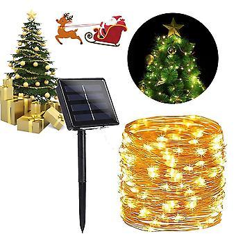 Solar Powered String Lights Indoor Outdoor Waterproof For Gardens Home