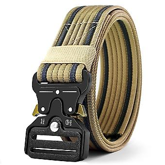 Men&s Tactical Military Belts Heavy Duty Army Regulowany nylonowy pas