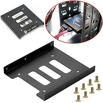 Useful 2.5 Inch Ssd Hdd To 3.5 Inch Metal Mounting Adapter Bracket Dock Screw