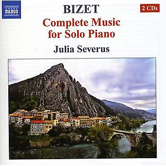 G. Bizet - Bizet: Complete Music for Solo Piano [CD] USA import