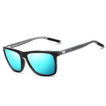 Unisex Retro Aluminum+tr90 Polarized Lens Vintage Eyewear Sun Glasses/women