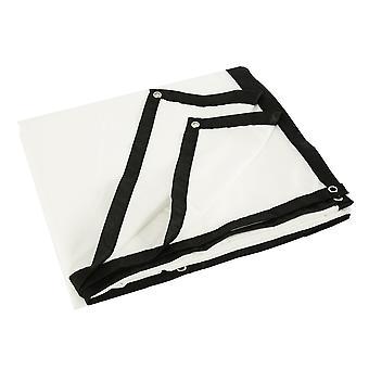 Pantalla del proyector 100/120 pulgadas 16:9 para poliéster - pantalla de proyección en casa