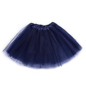 Femei Vintage Tulle Scurt Tutu Mini Fuste Adult Fancy Ballet Dancewear Party