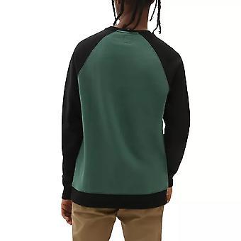 Vans Rutland jersey de la tripulación pin aguja negro - M