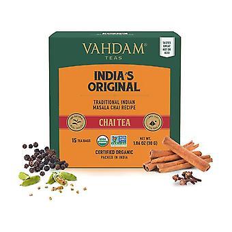 Chai masala original tea 30 infusion bags