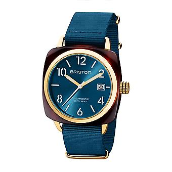 Briston 20240.PYA.T.31.NBD Clubmaster Classic Acetate Wristwatch Blue