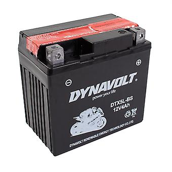 Dynavolt DTX5LBS Maintenance Free Battery With Acid Pack YTX5L-BS