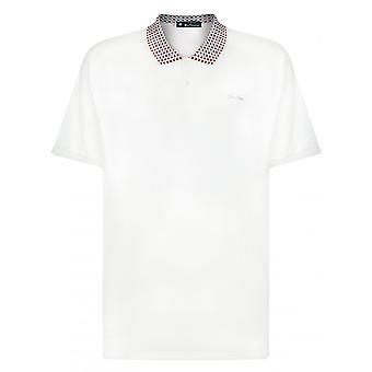Ben Sherman Jacquard Collar Polo Shirt