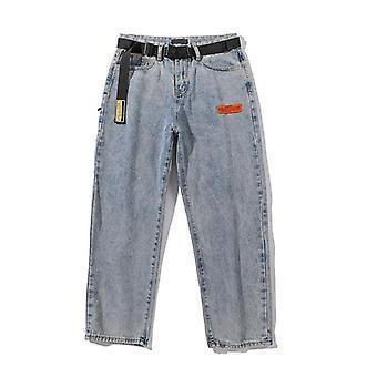 男性取り外し可能なバギージーンズパンツ