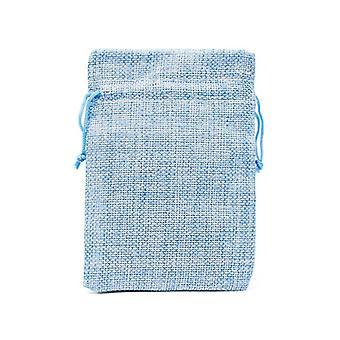Drawstring Natural Burlap Bag, Multi Size, Jewelry Packaging, Wedding Candy Bag