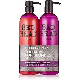 Bed Head Dumb Blonde Pack Shampoo + Conditioner