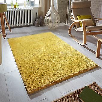 Weichheit zottige Teppiche In Senf