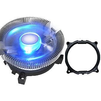 Pc Sininen Led Alumiini Heatsink Cpu Jäähdytin Cpu Tuuletin Jäähdytys Lga 775 1150 1155