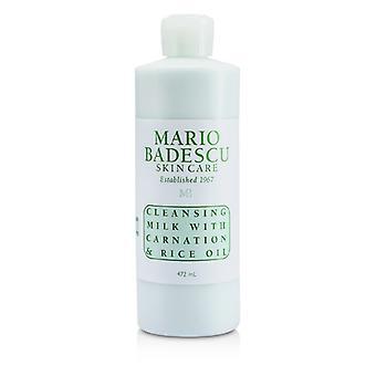 Mario Badescu rengöringsmjölk med nejlika & ris olja - för torr / känslig hud typer 472ml / 16oz