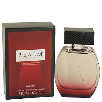 Realm Intense Eau De Toilette Spray By Erox 1.7 oz Eau De Toilette Spray
