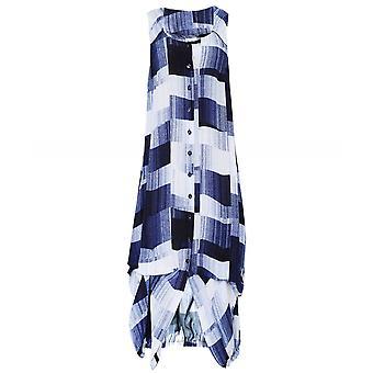 Crea Concept Abstract Print Tunic Dress