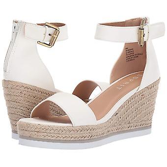 ESPRIT Femmes Rebekah Leather Peep Toe Casual Ankle Strap Sandals