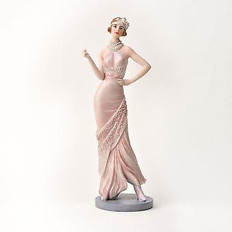 Widdop & Co. Broadway Belles Daisy Pink Blush Figurine
