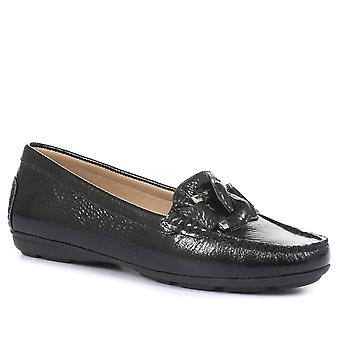 Jones 24-7 Womens Goldhawk Leather Loafers