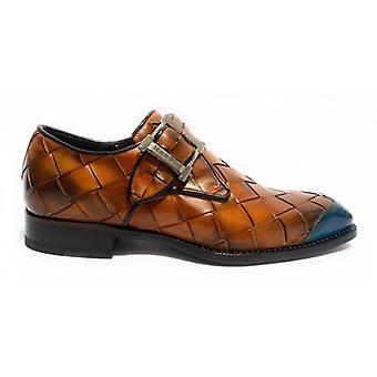 Shoes Harris Buckle Hand weave Largo Moro and Puntina Ocean U17ha131